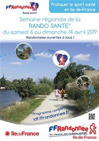 ÎLE-DE-FRANCE : semaine Rando Santé du 6 au 14 avril