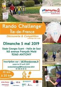 ÎLE-DE-FRANCE : Rando Challenge Régional
